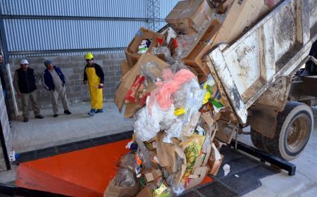 Bella vista:  Chávez destacó los avances de la Planta de Tratamiento de Residuos