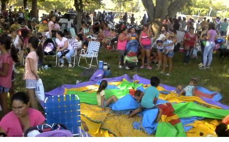 """Saladas dió un marco formidable a la visita del Programa """"Teko Verano"""""""