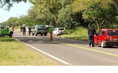 Persecución policial y fuerte despliegue en el sur de la provincia