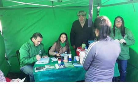 Operativos de salud en Saladas, Capital y otros municipios