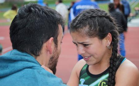 La saladeña July Romero (14 años) obtuvo la medalla de oro en 1.500 con obstáculos