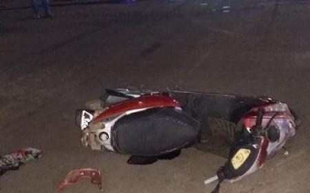 Accidente en la esquina de 25 de Mayo y Sargento Cabral