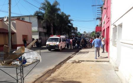 Se produjo un nuevo accidente en el centro de la ciudad de Saladas