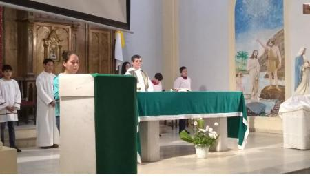 Horarios de Misas para este sábado 20 y el domingo 21 de julio