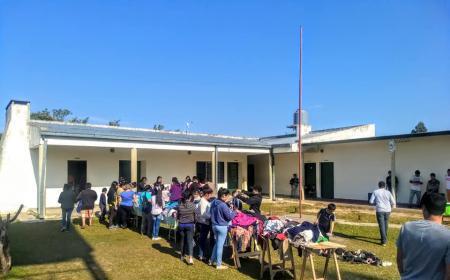 Actividad en vacaciones en la Escuela N° 234 de Tatacuá
