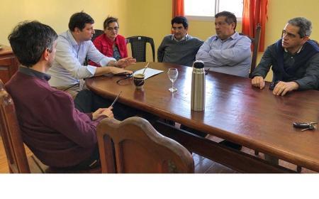 El PRO visitó Saladas para urdir estrategia electoral de cara al 27 de octubre