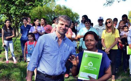 Provincia avanza en un ambicioso plan de viviendas sociales