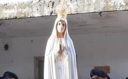 Gran recibimiento a la Virgen peregrina de Fátima en Corrientes