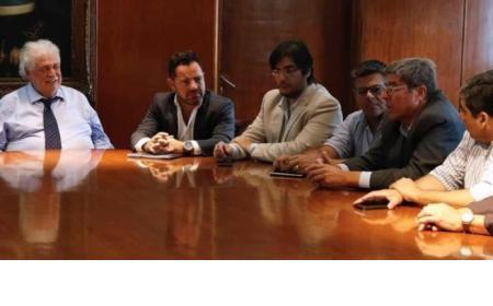 De qué habló el Intendente de Saladas en almuerzo con Sergio Massa