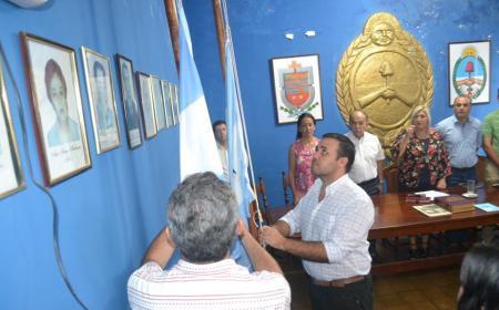 Asumió el 4° Defensor de los Vecinos de Saladas: Walter Domingo Pomes