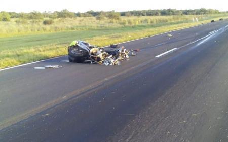 Motociclista murió tras choque contra un automóvil
