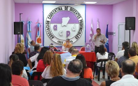 ACDP realizó su Congreso Extraordinario en medio de la discusión salarial