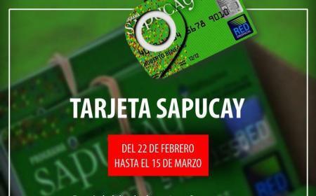 Se encuentran habilitadas las Tarjetas Sapucay