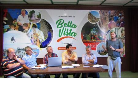 Federación Correntina de Básquet se reunió en Bella Vista