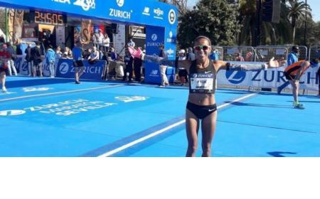 Una correntina pulverizó el récord argentino de maratón