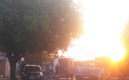 Un masculino que se trasladaba en su moto se descompeso y murio en Saladas