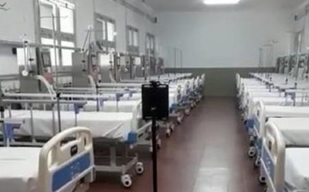 Hospital de Campaña: Corrientes tiene un robot enfermero para casos de Covid-19