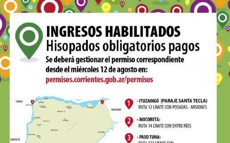 Corrientes arrancará con 5 retenes para los testos obligatorios: tendrá un costo de $5.300 y $3000