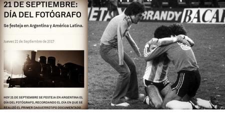 Por qué se festeja el Día del Fotógrafo el 21 de septiembre
