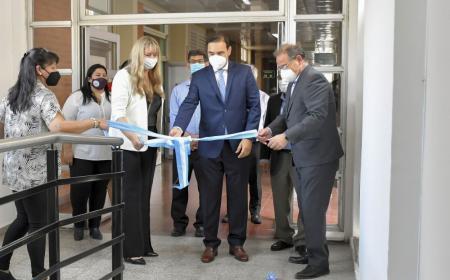 Provincia inauguró refacciones y un moderno resonador magnético
