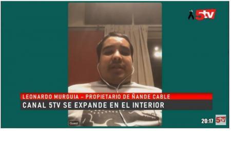 Canal 5TV llegará a nuevas localidades a través de Ñande Cable