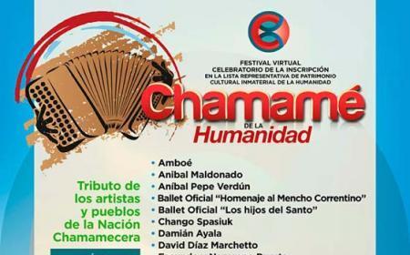 """Festival virtual """"Chamamé de la Humanidad"""". Día 1"""
