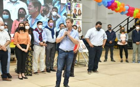 Elecciones del 14/11: Valdés presentó en Mercedes a candidatos