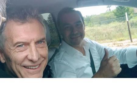 Sorpresiva visita de Macri a Corrientes: recorrida por obras y foto con Valdés